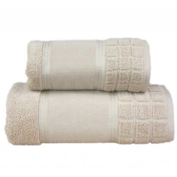 Beżowy ręcznik Special firmy Greno.