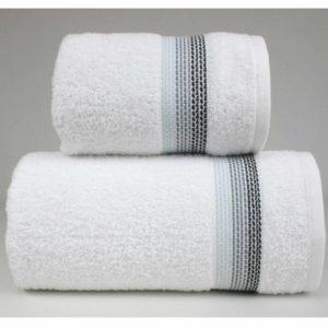 Biały ręcznik Ombre firmy Greno.
