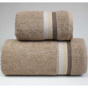 Beżowy ręcznik Ombre firmy Greno.