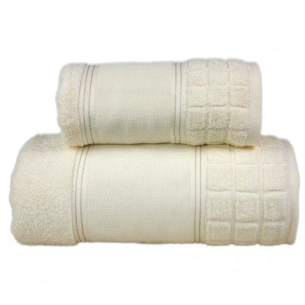 Kremowy ręcznik Special firmy Greno.