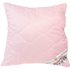 Poduszka antyalergiczna 40x40 różowa.