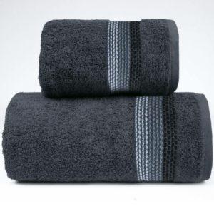 Popielaty ręcznik Ombre firmy Greno.