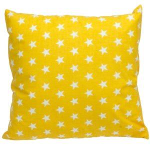 Poszewka bawelniana 40x40 Żółte gwiazdki od TuliSen.