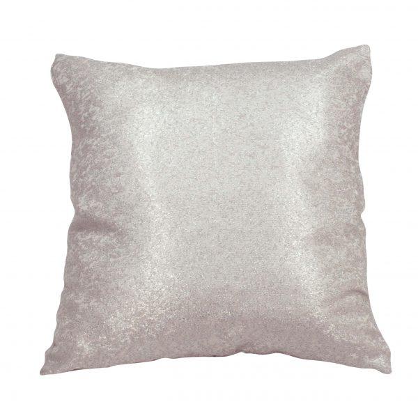 Poszewka dekoracyjna 45x45 Pink silver od firmy TuliSen.
