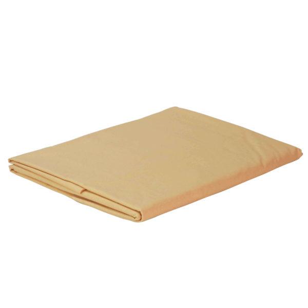 Prześcieradło bawełniane złote firmy TuliSen.