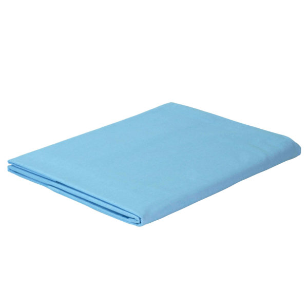Prześcieradło bawełniane niebieskie firmy TuliSen.