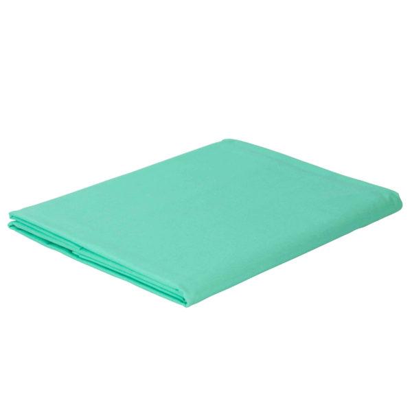 Prześcieradło bawełniane zielone firmy TuliSen.