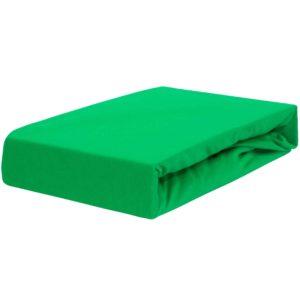 Prześcieradło jersey z gumką zieleń trawy firmy TuliSen