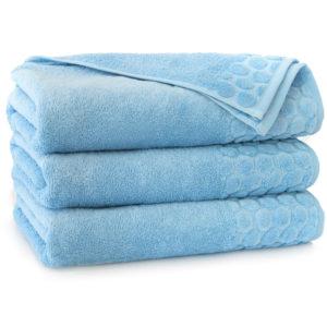 Ręcznik Pastela firmy Zwoltex w kolorze błękitnym.