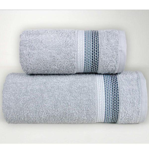 Szary ręcznik Ombre firmy Greno.