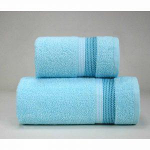 Turkusowy ręcznik Ombre firmy Greno.