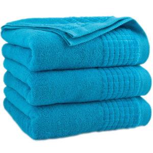 Turkusowy ręcznik Paulo firmy Zwoltex.