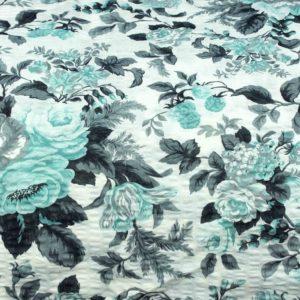 Kora Bielawa Kwiaty w turkusie