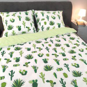 Pościel bawełniana kaktusy od TuliSen