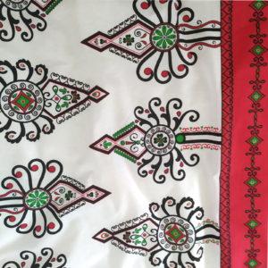 Tkanina Parzenica Czerwona od TuliSen