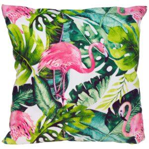 Poszewka flamingi liście TuliSen