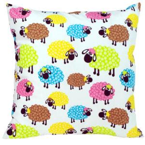 Poszewka kolorowe owce TuliSen